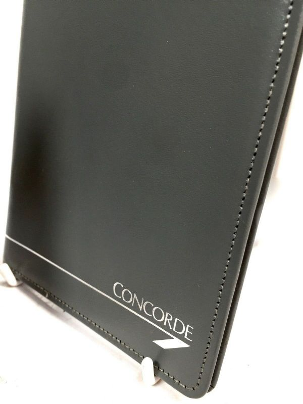 Concorde Collectables - A Pair of Leather Travel Wallets for Passengers On Board